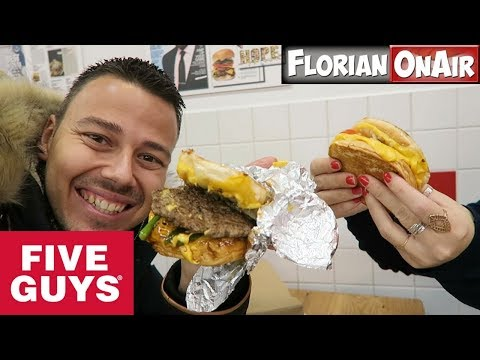 FIVE GUYS fait des GRILLED CHEESE ?!?! -  VLOG #498