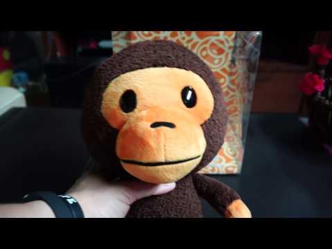 Bathing Ape (BAPE) Kids - Baby Milo Store Exclusive Plush Toy 2016 Unboxing & Review!