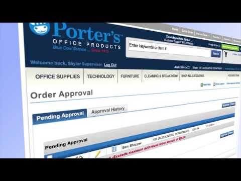 Order approval efficient for managers on Shop.PortersOP.com