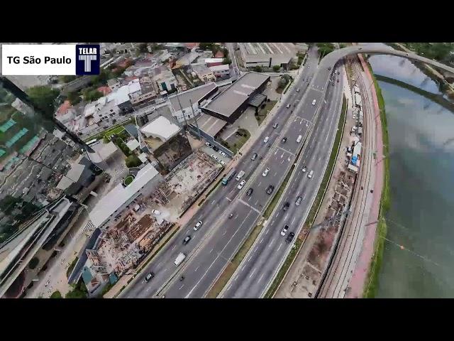 Obra • Futura Estação João Dias, CPTM • Infraestrutura Metroferroviára TELAR Engenharia