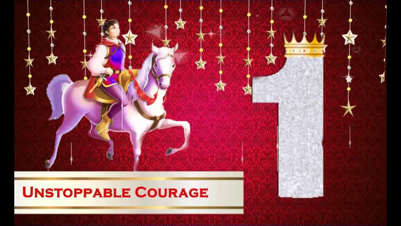 Royal Prince WhatsApp Birthday Party Invitation For Boy - YouTube