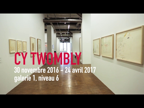 Bande-annonce | Cy Twombly | Exposition | Centre Pompidou