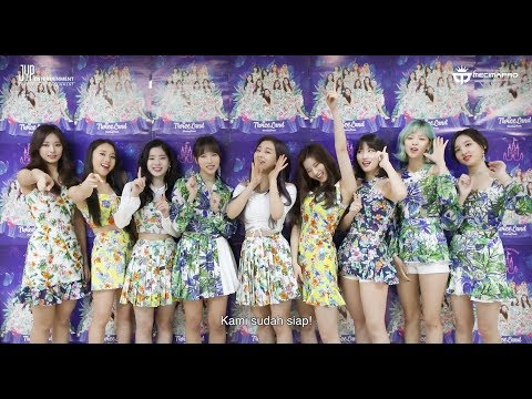 [OFFICIAL GREETINGS]  TWICE 2ND TOUR 'TWICELAND ZONE 2: Fantasy Park' IN JAKARTA