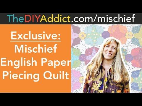 Exclusive: Mischief English Paper Piecing Quilting Kit
