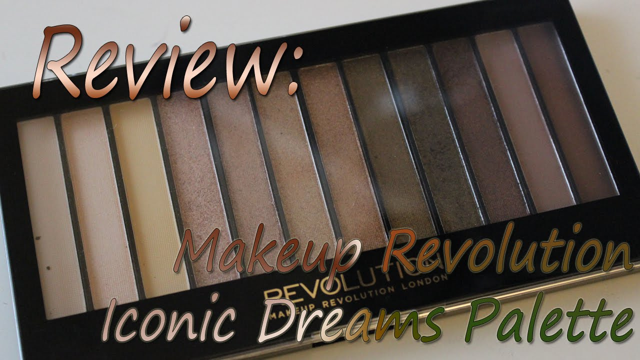Makeup revolution iconic dreams