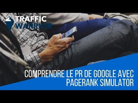 Comprendre le PR de Google avec PageRank Simulator