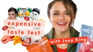 Joey King Shaves a Barbie Head to Prove Her Expensive Taste | Expensive Taste Test | Cosmopolitan