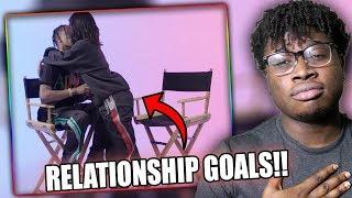RELATIONSHIP GOALS! | Kylie Jenner Asks Travis Scott 23 Questions