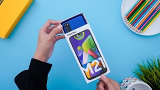 Samsung Galaxy M21 Unboxing Indonesia & Review Singkat!
