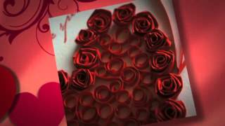 Handmade Valentine Cards - Quilling Patterns