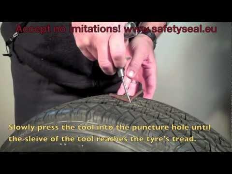 Safety Seal, External Tyre Repair