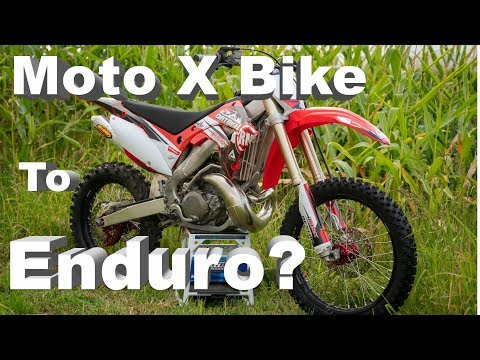 Take A MotoCross Bike and Convert to Enduro?? | Some things to consider