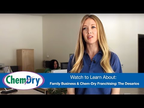 Family Business And Chem-Dry Franchising: The Desarios