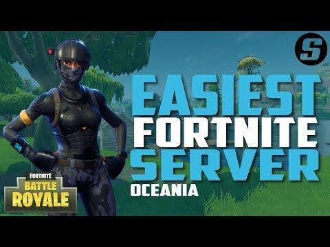 Fortnite Easiest Server Ever! Get more Fortnite Wins! (Oceania Servers)