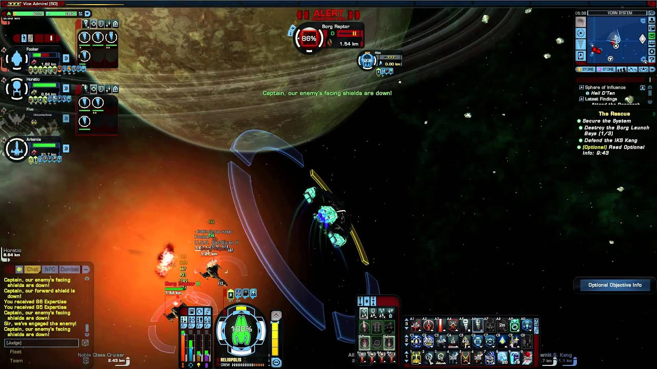 Star Trek Online Advanced Obelisk Carrier The Cure Elite Stf