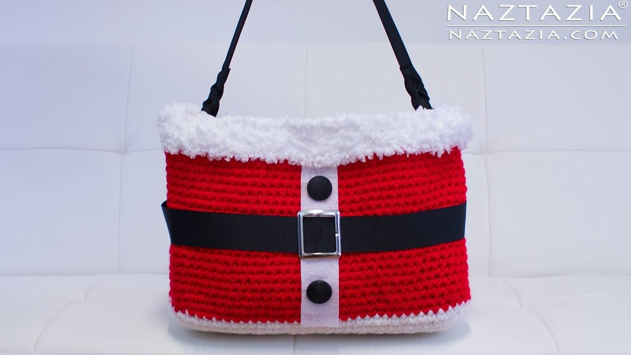Diy tutorial crochet christmas santa handbag purse tote bolsa diy tutorial crochet christmas santa handbag purse tote bolsa bankloansurffo Image collections