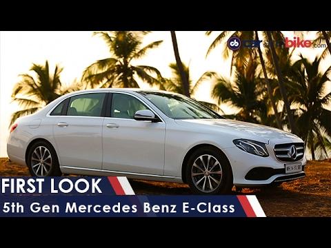 5th Gen Mercedes-Benz E-Class First Look - NDTV CarAndBike