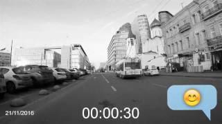 Эксперимент: как быстро можно припарковаться в центре