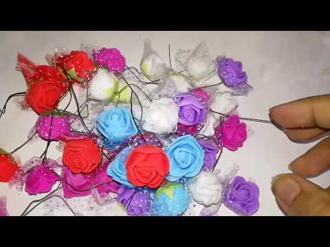 Artificial Flowers Making With simple method