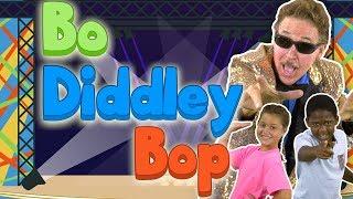 Bo Diddley Bop   Brain Breaks   Growing Pattern Song   Jack Hartmann