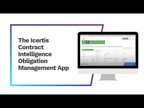 The ICI Obligation Management App
