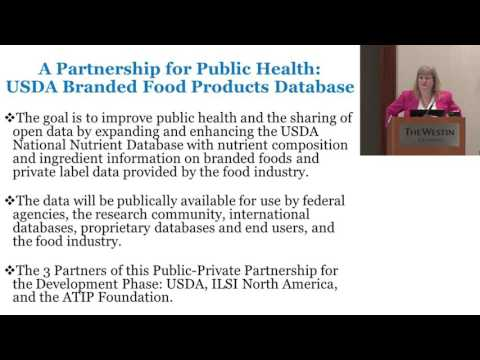 ILSI NA: NNDC: A Partnership for Public Health... (Pamela Starke-Reed and Alison Kretser)