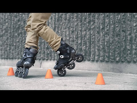 HOW TO START FREESTYLE SLALOM ON INLINE SKATES