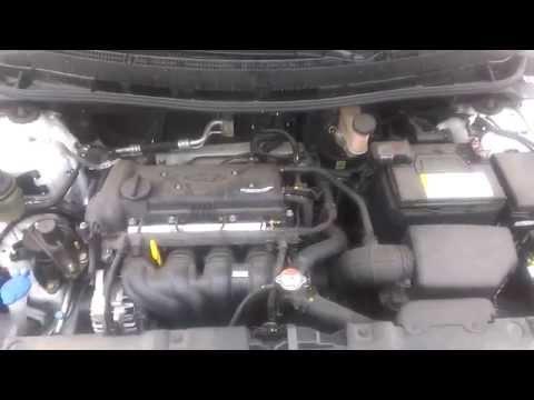 Работа двигателя Hyundai Solaris Accent IV 1.4