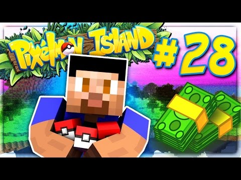 MONEY MAKING! - PIXELMON ISLAND SMP #28 (Pokemon Go Minecraft Mod)