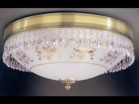 потолочной люстры с пультом сборка