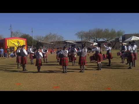 Phoenix Pipe Band Grade 3 Medley - Phoenix Scottish Games 2018