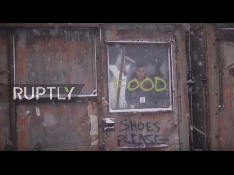Serbia: 'Please help me' - refugees suffer as temperatures plummet in Belgrade