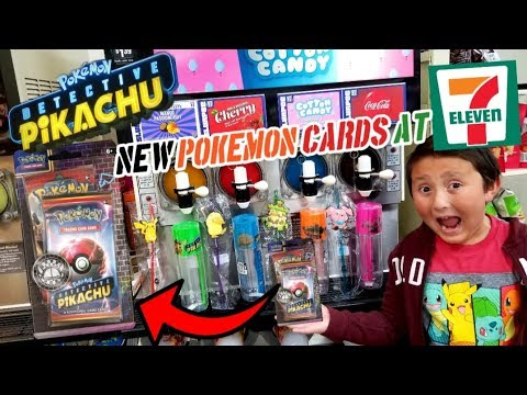 Hard To Find Pokemon Cards At 7 Eleven New Detective Pikachu Cards
