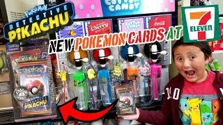 HARD TO FIND POKEMON CARDS AT 7-ELEVEN! NEW DETECTIVE PIKACHU CARDS & MORE SUPRISES AT 7-ELEVEN!