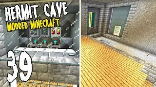 Hermit Cave: 39 | Cleaning Time! | Modded Minecraft