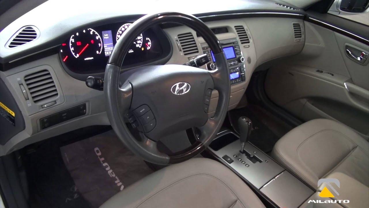 Hyundai Azera 2009 2010 Youtube