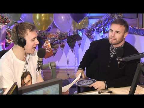 Gary Barlow Tenuous Links! Chris Evans Breakfast Show BBC Radio 2