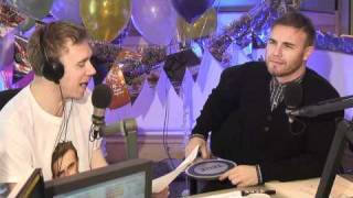 Gary Barlow Tenuous Links! Chris Evans Breakfast Show BBC Radio 2