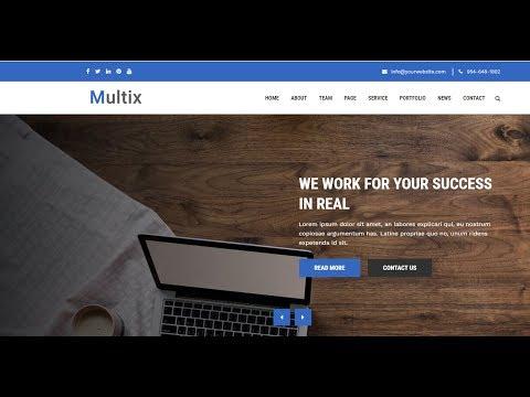 Tutorial Install Sorce Code Website Company Profile Multix Dengan Codeigniter