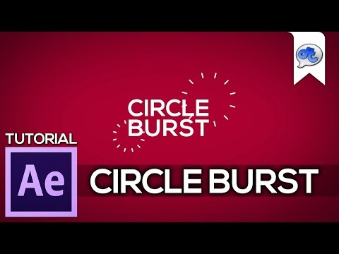 Adobe After Effects | TUTORIAL #9 : CIRCLE BURST (Bahasa Indonesia) + English Sub