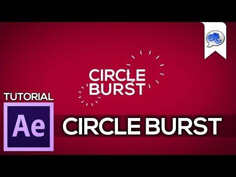 Adobe After Effects   TUTORIAL #9 : CIRCLE BURST (Bahasa Indonesia) + English Sub