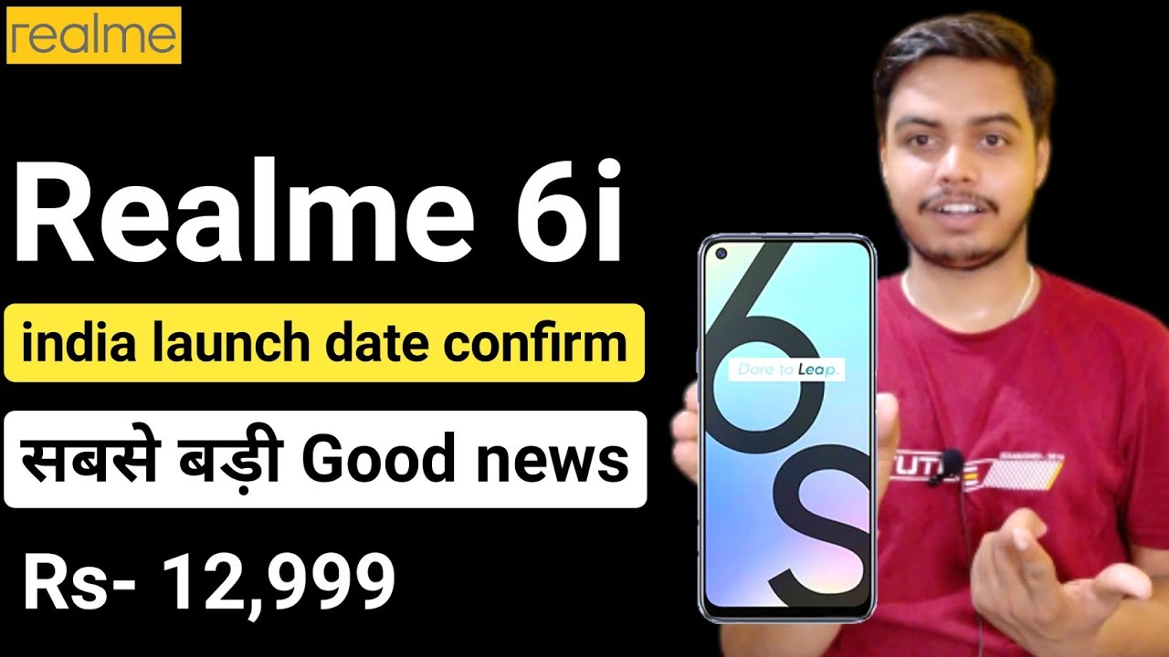 Realme 6i (realme 6s) india launch date confirmed helio G90T, 48 mp camera, full details about it