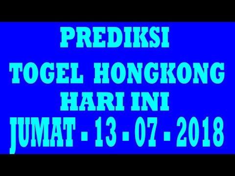 PREDIKSI TOGEL HONGKONG HARI INI - JUMAT - 13 - JULI - 2018