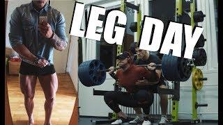 LEG DAY | Nová maximálka na dřep!