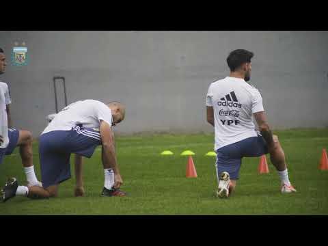 #SelecciónMayor Trabajos previos al próximo compromiso por #CopaAmérica