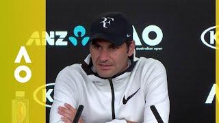Roger Federer press conference (4R) | Australian Open 2018