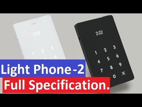 light phone 2 4g phone review specification price features youtube. Black Bedroom Furniture Sets. Home Design Ideas
