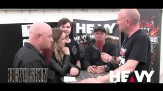 Devilskin at Download Festival 2017 | HEAVY TV Interviews