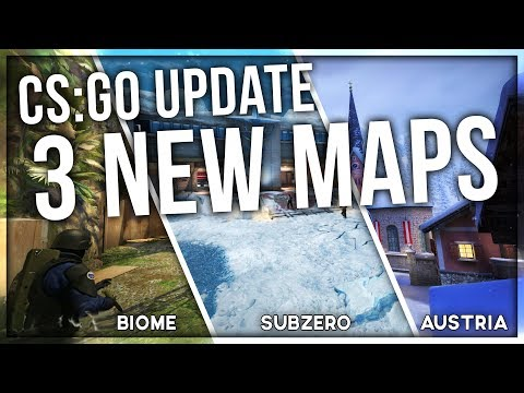 BIG CS:GO UPDATE (3 NEW MAPS!)