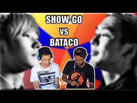 SHOW GO vs BATACO - Grand Beatbox SHOWCASE Battle Elimination//REACTION